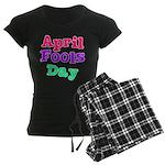 April Fool's Day 2 Women's Dark Pajamas