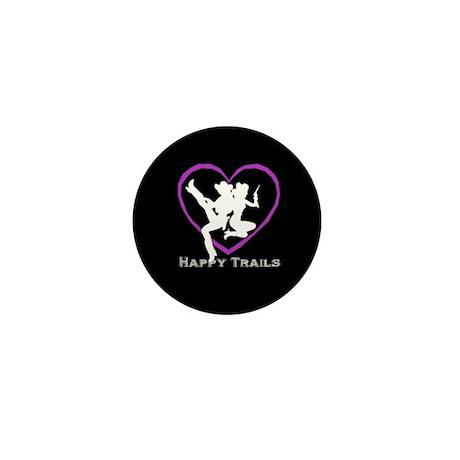 """""""Happy Trails Lesbians"""" Mini Button (100 pack)"""
