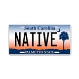 South Carolina Palmetto Sunri Aluminum License Pla