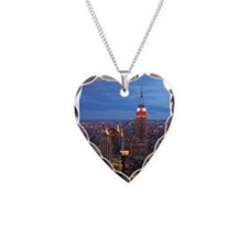 New York City Pendant featuring Empire State Bldg.