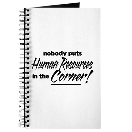 HR Nobody Corner Journal