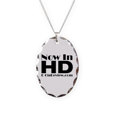 HD Necklace Oval Charm