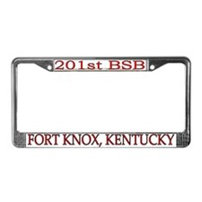201st Brigade Support Bn License Plate Frame