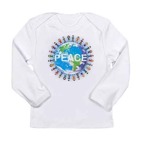 Peace Long Sleeve Infant T-Shirt