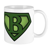 Super Green B Small Mug