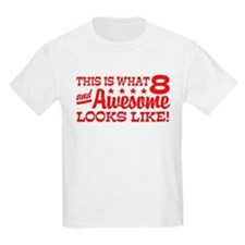 Funny Eight Year Old T-Shirt