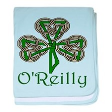 O'Reilly Shamrock baby blanket