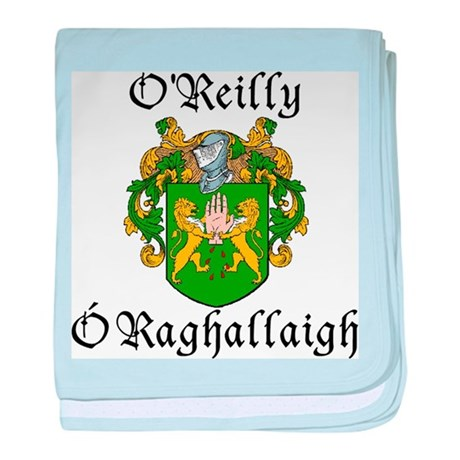 O'Reilly In Irish & English baby blanket