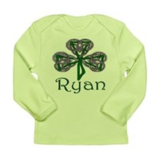 Ryan Shamrock Long Sleeve Infant T-Shirt