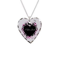 Jacob Black Necklace Heart Charm