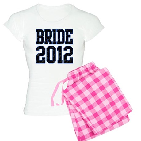Bride 2012 Women's Light Pajamas