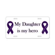 Daughter CF Hero Aluminum License Plate