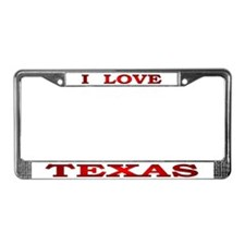 Texas-1 License Plate Frame