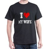 I Love My Wife: T-Shirt