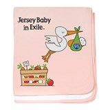 New Jersey Baby in Exile baby blanket