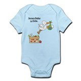 New Jersey Baby in Exile Onesie