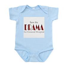 Drama on General Hospital Infant Bodysuit