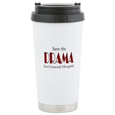 Drama on General Hospital Ceramic Travel Mug