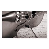 Violin BW Decal