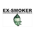 Ex-Smoker 38.5 x 24.5 Wall Peel