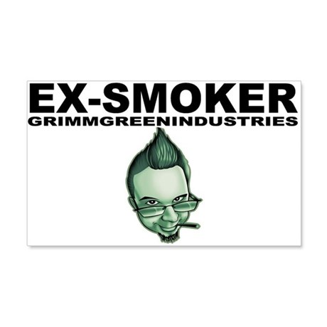 Ex-Smoker 22x14 Wall Peel