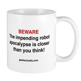 Geek Actually Robot Apocalypse  Tasse