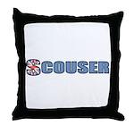 Scouser Throw Pillow