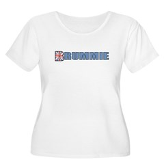 Brummie Women's Plus Size Scoop Neck T-Shirt