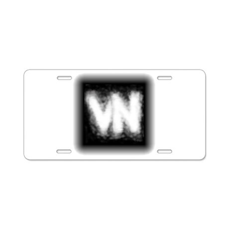 VN Logo Aluminum License Plate
