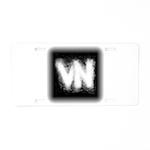 VN Logo Aluminum License Plate