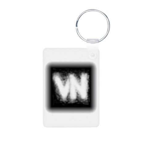 VN Logo Aluminum Photo Keychain