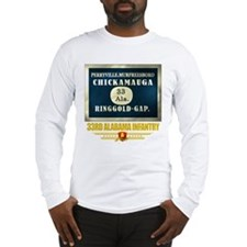 33rd Alabama Infantry Long Sleeve T-Shirt