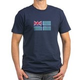 Civil Air Ensign Men's Fitted T-Shirt (Dark)