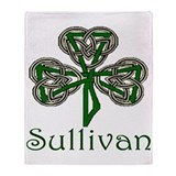 Sullivan Shamrock Throw Blanket