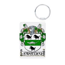 Sweeney Coat of Arms Keychains