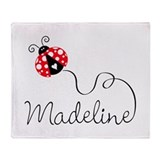 Ladybug Madeline Throw Blanket