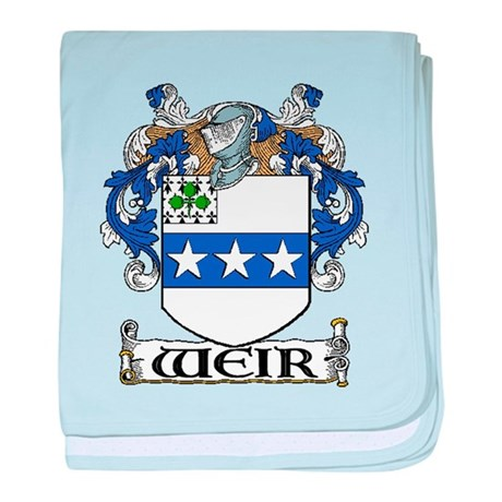 Weir Coat of Arms baby blanket