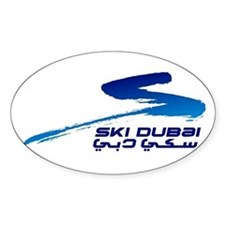 Ski Dubai Decal