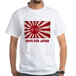 Japanese Flag White T-Shirt