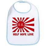 Help Hope Love Bib