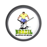 Brazil2 Wall Clock