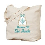 Mother of the Bride Wedding Cake Tote Bag