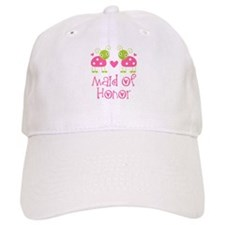 Maid Of Honor Ladybug Baseball Cap