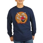 Bowling Long Sleeve Dark T-Shirt