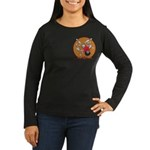 Bowling Women's Long Sleeve Dark T-Shirt
