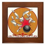 Bowling Framed Tile