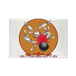Bowling Rectangle Magnet (100 pack)