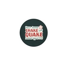 Shake the Quake Mini Button (100 pack)