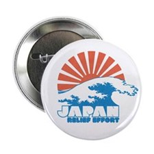 "Japan Relief Effort 2.25"" Button"