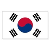 Korean Flag Decal